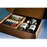 DO YOUR GIN DIY Gin-Making Alcohol Infusion-Kit Featured in Vogue | 12 Spices in Glasses | Mixology-Set for Bartender | Perfe