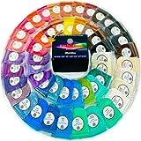 Mica Powder 50 Color Set [5g/0.18oz Each] Perfect for Epoxy Resin, Acrylic Paint, 50 Vibrant Pigment Powder Colors Kit, Cosme