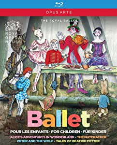 英国ロイヤル・バレエ 子供のためのバレエBOX(セルゲイ・ポルーニン 他)[Blu-ray,4枚組]