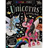 Scratch and Sparkle Unicorn Activity Book
