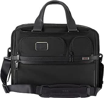 TUMI (トゥミ) ビジネスバッグ メンズ ALPHA 3 Expandable Organizer Laptop Brief 2603141 1173051041 ブラック [並行輸入品]
