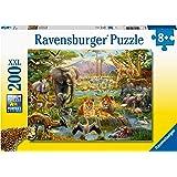 Ravensburger 12891 Animals of The Savanna Puzzle Game 200-Pieces
