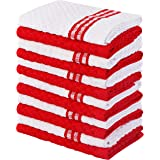 Utopia Towels Kitchen Towels, 15 x 25 Inches, 100% Ring Spun Cotton Super Soft and Absorbent Dish Towels, Tea Towels and Bar
