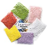STAROAR 5D Diamond Painting Kit Full Drill Square Diamond 15Colors 35X45CM Colorful Embroidery Painting - Whale
