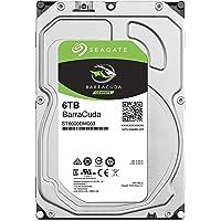 Seagate BarraCuda 3.5インチ 6TB 内蔵ハードディスク HDD 2年保証 6Gb/s 256MB…