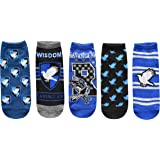 Harry Potter Ravenclaw Juniors/Womens 5 Pack Ankle Socks Size 4-10