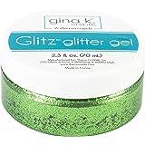 Thermoweb GKDGG-18136 Gina K Designs Glitz Glitter Gel 2.3oz-Grass Green