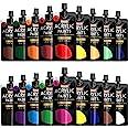 Acrylic Paint, Shuttle Art 18 Colors Acrylic Paint Pouches (120ml/4.06oz), Artist Grade Acrylic Paint Set, Rich Pigments, Non