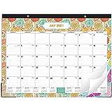 """2021-2022 Desk Calendar - 18 Months Desk Calendar Pad 22"""" x 17"""" Desk Pad Calendar, Starts at July 2021 not January 2021 and E"""