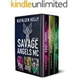 Savage Angels MC Collection Books 4-6 (Motorcycle Club Romance)