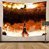 MEWE Attack on Titan Tapestry 59x70in