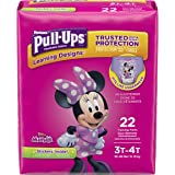 Pull-Ups Learning Designs for Girls Potty Training Pants, 3T-4T (32-40 lbs.), 22 Ct. (Packaging May Vary)
