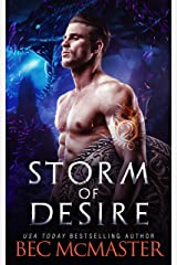 Storm of Desire: Dragon Shifter Romance (Legends of the Storm Book 2) Kindle Edition