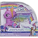 My Little Pony Toy Rainbow Wings Twilight Sparkle -- Purple Pony Figure with Lights and Moving Wings, Kids Ages 3 Years Old a