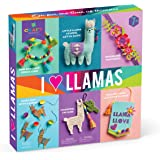 Craft-tastic – I Love Llamas Kit – Craft Kit Includes 6 Llama-Themed Projects