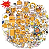 Gude_tama Stickers 121PCS Lazy Egg Vinyl Decorations for Kids Laptop Scrapbook Desk Pencil Bag Luggage Decorative DIY Craft