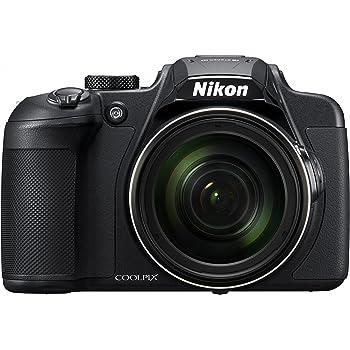 Nikon デジタルカメラ COOLPIX B700 光学60倍ズーム 2029万画素 ブラック B700BK クリーニング クロス付き