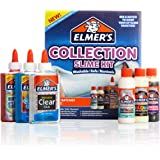 Elmer's Collection Slime Kit Supplies Include Glow In The Dark Magical Liquid Slime Activator, Metallic Magical Liquid, Confe