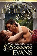 To Tempt A Highland Duke: A Scottish Romance Novella Kindle Edition