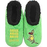 Slumbies! Mens Slippers - Soft Slippers for Men - Indoor House Slippers for Men - Comfortable Mens House Slippers