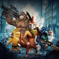 Time Monkeys - Arcade Shooter