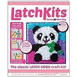 Latchkits Panda 3-D Mini Rug The Classic Latch Hook Craft Kit!