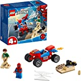 LEGO®MarvelSpider-Man:Spider-ManandSandmanShowdown76172BuildingKit