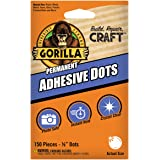 Gorilla 150 Adhesive Dots, 1-Pack, Clear