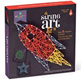 Craft-tastic DIY String Art – Craft Kit for Kids – Everything Included for 3 Fun Arts & Crafts Projects – Space Series Featur