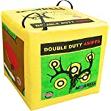 Morrell Double Duty 400 FPS Field Point Bag Archery Target - for Crossbows, Compound Bows and Airbows