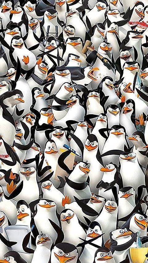 ディズニー ペンギンズ from マダガスカル XFVGA(480×854)壁紙画像