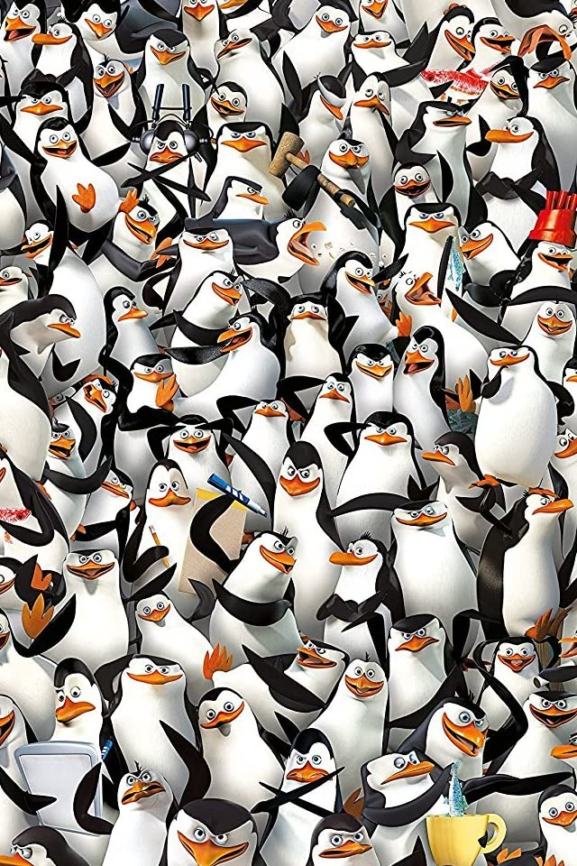 ディズニー ペンギンズ from マダガスカル iPhone(640×960)壁紙 画像73099 スマポ