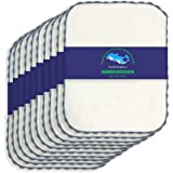 10 Pack Bamboo Kitchen Dishcloths - Eco-Friendly No Odor Reusable Premium Dish Clothes, Super Absorbent Bamboo Cleaning Cloth