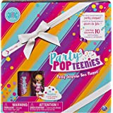 Party Popteenies - Party Surprise Box Playset with Confetti, Exclusive Collectible Mini Doll and Accessories, for Ages 4 and