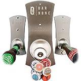 Bar None The Capstractor   Bottle Opener Beer Opener Beer Bottle Opener Magnet Magnetic Fridge Bottle Opener Bottle Cap Opene