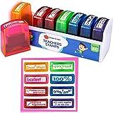 Teacher Stamps   Teacher Gifts For Women & Men (8-Piece Set)   Teacher Supplies For Classroom Teacher Appreciation Gift Self