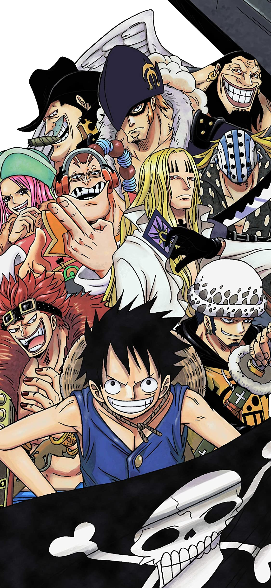 One Piece Iphone X 壁紙 1125x2436 Rookies アニメ スマホ用画像