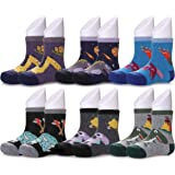 CHOWISH Kids Boys Girls Winter Wool Socks Super Soft Warm Thick Cotton Crew Socks 6 Pairs