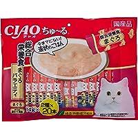 チャオ (CIAO) 猫用おやつ ちゅ~る40本入り 総合栄養食 まぐろバラエティ 猫用 14g×40本