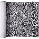 AmazerBath Bathroom Rug, Chenille Bath Mat, Non-Slip, Soft Shaggy, Ultra Water Absorbent, Machine-Washable Shower Rug for Bat