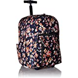 Vera Bradley Lighten Up Large Rolling Backpack, Polyester