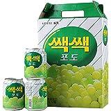 Lotte Grape Drink, 238ml (Pack of 12)