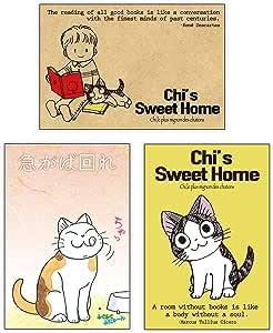 チーズスイートホーム(Chi's Sweet Home)&ふくふく ふにゃ〜ん ポストカード3枚セット