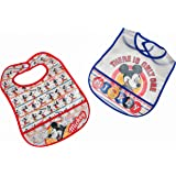 Disney Mickey Mouse 3 Piece Bandana Bibs
