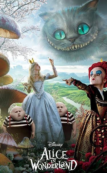 ディズニー  iPhone/Androidスマホ壁紙(740×1196)-1 - 『アリス・イン・ワンダーランド』赤の女王と白の女王