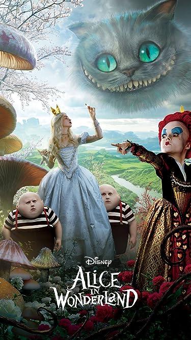 ディズニー  iPhone/Androidスマホ壁紙(1080×1920)-2 - 『アリス・イン・ワンダーランド』赤の女王と白の女王