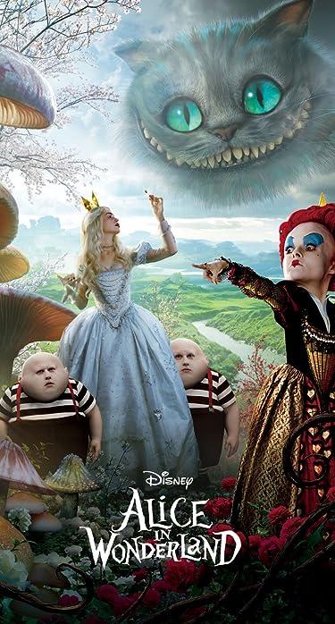 ディズニー  iPhone/Androidスマホ壁紙(890×1590 or 854×1590)-1 - 『アリス・イン・ワンダーランド』赤の女王と白の女王