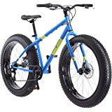 Mongoose Dolomite Fat Tire Mountain Bike, Featuring 17-Inch/Medium High-Tensile Steel Frame, 7-Speed Shimano Drivetrain, Mech