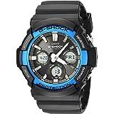 Casio Men's 'G-SHOCK' Quartz Resin Casual Watch, Color:Black (Model: GAW-100B-1A2CF)