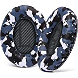 Wicked Cushions Premium Bose QC35 Ear Pads - Compatible with Bose QuietComfort 35 & 35 ii | Snow Camo